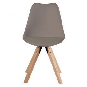 Lot de 2 chaises moderne PVC Casita CHABENCAFE