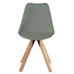 Lot de 2 chaises scandinave PVC Casita CHABENKAKI