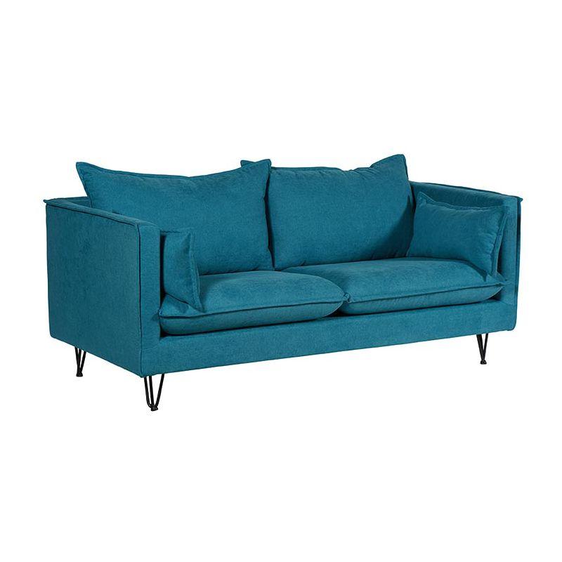 Canapé tissu bleu canard 184cm Casita Larry LARCASORBLECAN