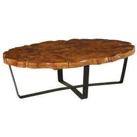 Table basse ovale teck 120cm Casita PALATABA 20