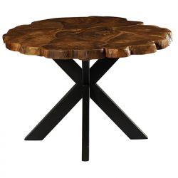 Table repas ronde teck 120cm Casita PALATARO 120