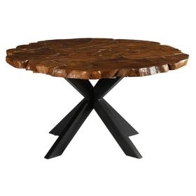 Table ronde teck 150cm Casita PALATARO 150