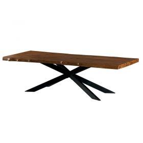 Table teck bords naturels 240cm Valley Casita VALTA 240