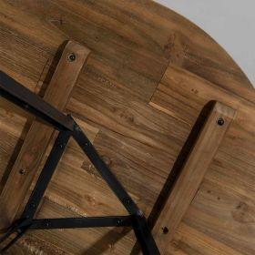 Table basse teck ronde 75cm SWIN d-bodhi