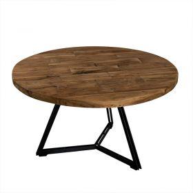 Table basse industrielle noir 75cm SWIN d-bodhi