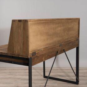 Bureau original teck avec rangements d-bodhi SING 140cm