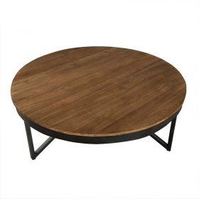 Table basse ronde teck 90cm SING D-Bodhi