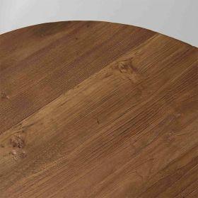 Table basse industrielle teck recyclé 90cm SING D-Bodhi