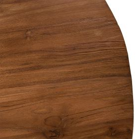Table basse industrielle teck recyclé 110cm SING D-Bodhi