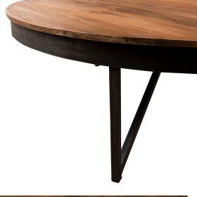 Table basse ronde industrielle 110cm SING D-Bodhi