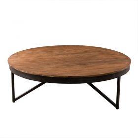 Table basse ronde bois recyclé 110cm SING D-Bodhi
