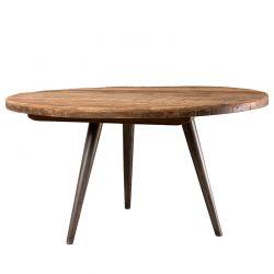 Table basse teck recycle acier d-bodhi SING 55cm