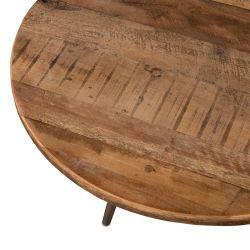 Table basse teck recyclé d-bodhi SING 55cm