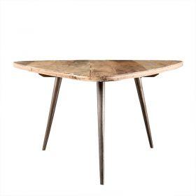 Table basse teck recyclé métal d-bodhi SING 75cm