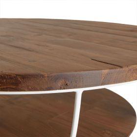 Table basse ronde industrielle d-bodhi SING 80cm