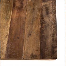 Table bois et métal 200cm Macabane ALIDA