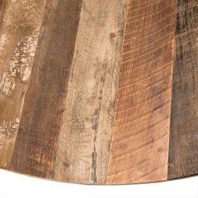 Table bois recyclé 130cm Macabane ALIDA