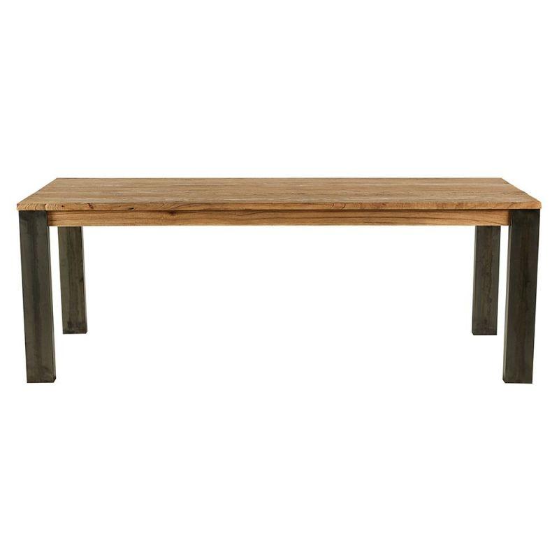 Table bois et métal 180cm Toronto Casita TOTA180
