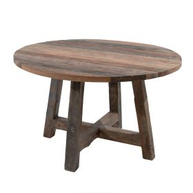 Table bois recyclé 120cm Casita RAANTA1200RD