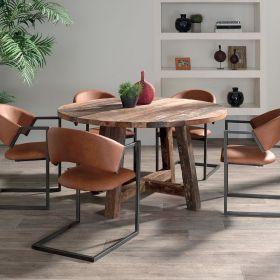 Table bois recyclé 140cm Casita RAANTA1400RD