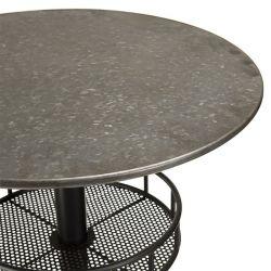 Table de bar ronde industrielle ∅58cm Macabane HABY