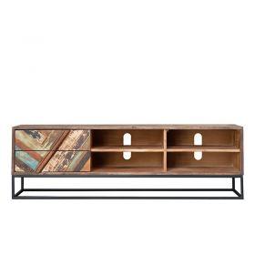 Meuble TV bois et métal 152cm RITA