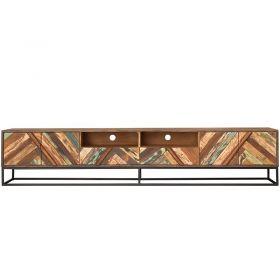 Grand meuble TV bois et métal 232cm RITA