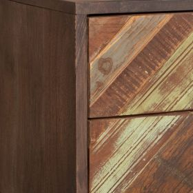 Buffet bois recyclé 2 portes 139cm RITA