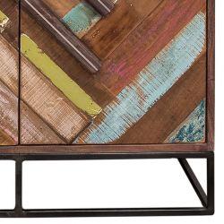 Buffet bois coloré 88cm RITA