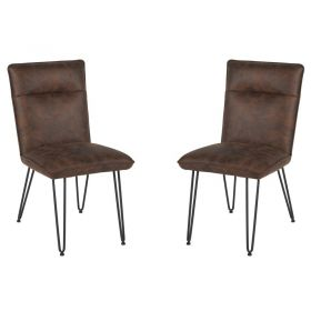 Lot de 2 chaises polyester Casita CHA 130