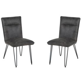 Lot de 2 chaises polyester Casita CHA 140