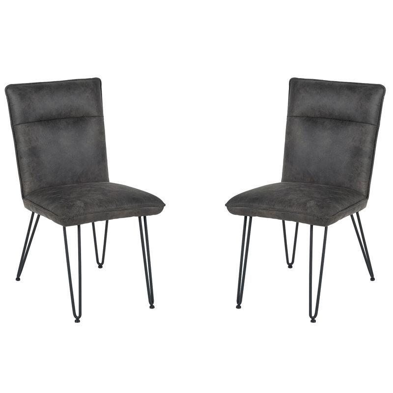 Lot de 2 chaises polyester Casita CHA 140