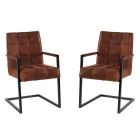 Lot de 2 chaises polyester CHA 170MAR