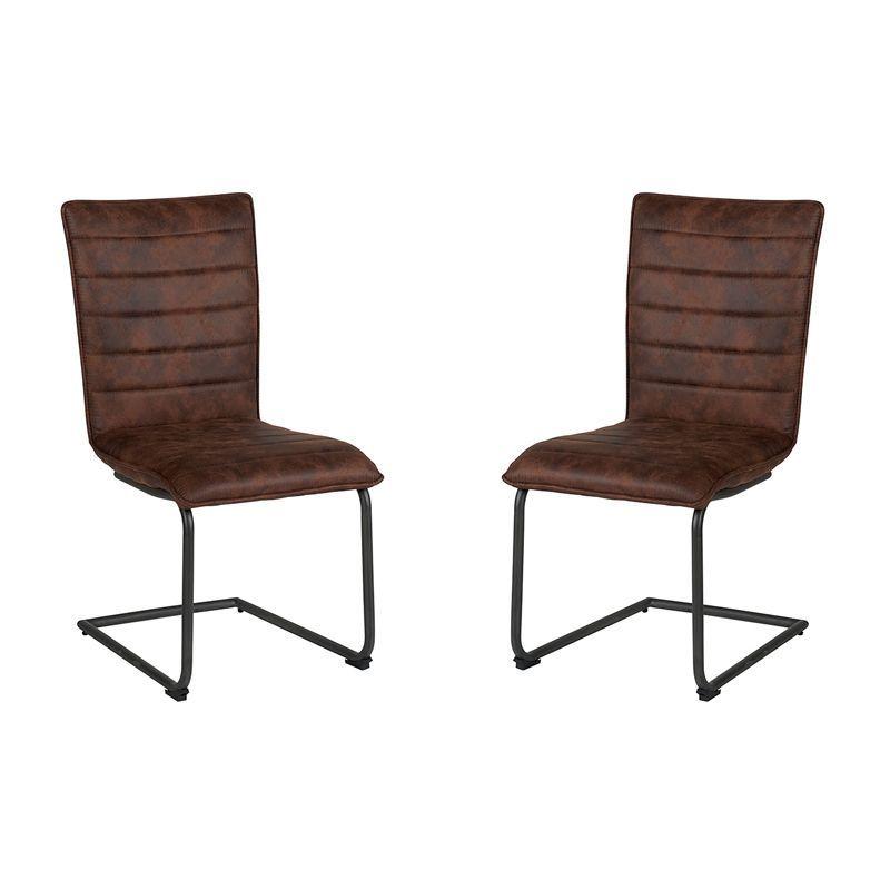 Lot de 2 chaises polyester CHA 400HAV