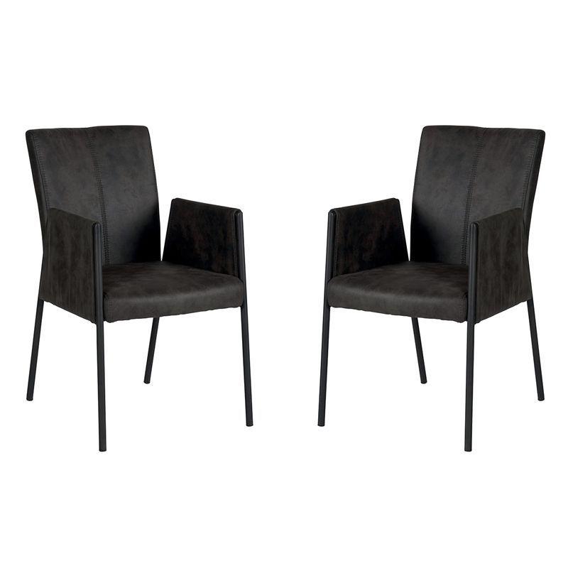 Lot de 2 chaises polyester CHA 500AGRI