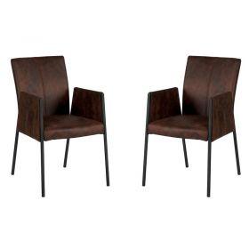 Lot de 2 chaises polyester CHA 500AHAV