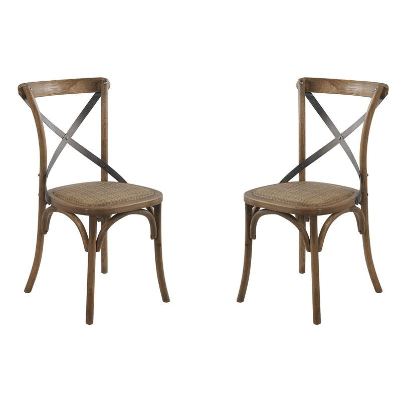 Lot de 2 chaises bistrot Casita CHA 90