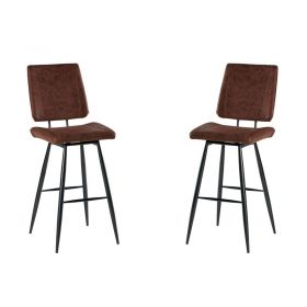 Lot de 2 chaises de bar polyester Casita CHABAR 100HAV