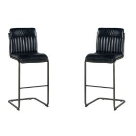 Lot de 2 chaises de bar polyester Casita CHABAR 600GF