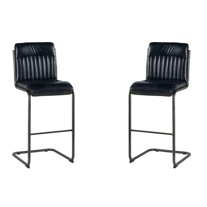 Lot de 2 chaises de bar polyester Casita CHABAR 600GF