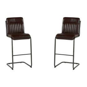 Lot de 2 chaises de bar polyester Casita CHABAR 600HAV