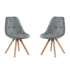 Lot de 2 chaises scandinave Casita CHAYATEGRICLA