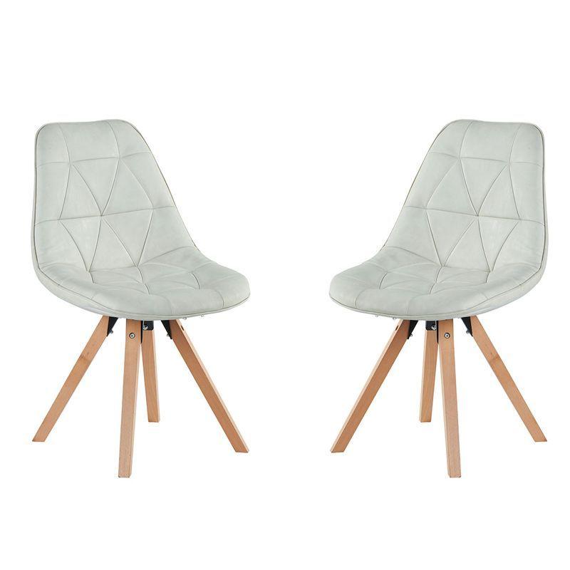 Lot de 2 chaises scandinave Casita CHAYATEBLA