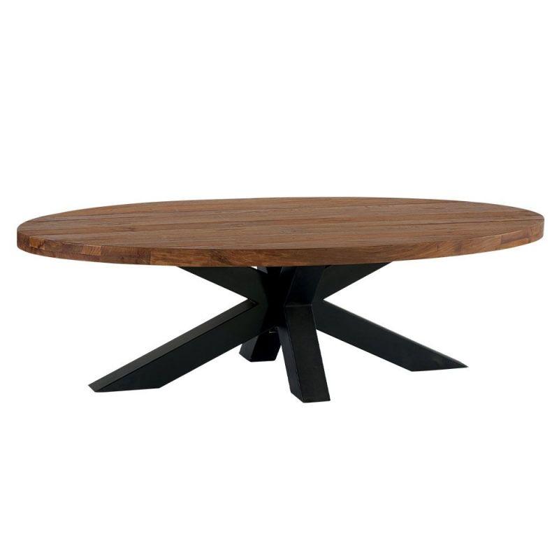 Table basse teck massif 137cm Bailey Casita BAITABA 137