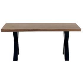 Table bois pied métal 180cm Cleveland Casita CLETA180
