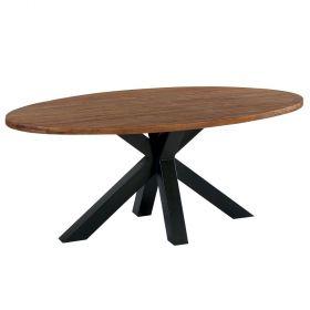 Table repas teck massif 190cm Bailey Casita BAITA 190