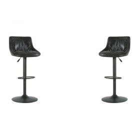 Lot de 2 chaises de bar réglable hauteur Casita CHABARNASGRIFON