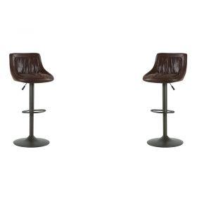 Lot de 2 chaises de bar réglable hauteur Casita CHABARNASHAV
