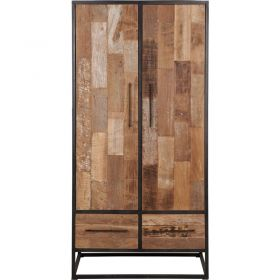 Armoire industrielle bois métal 100cm SWAN d-bodhi