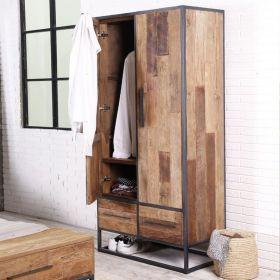 Armoire industriel bois 80cm SWAN d-bodhi
